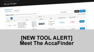 [NEW TOOL ALERT] Meet The AccaFinder