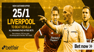 25/1 Liverpool To Beat Sevilla