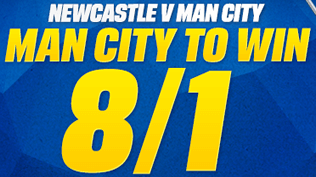 Man City 8/1 To Beat Newcastle