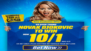US Open - Djokovic To Win - 10/1
