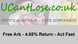 Free Arb - 4.65% Return - Act Fast