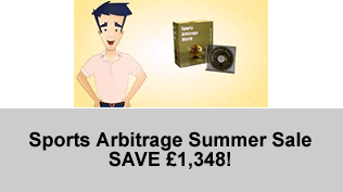Sports Arbitrage Summer Sale (SAVE £1,348!)