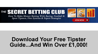 Download Your Free Tipster Guide...And Win Over £1,000!