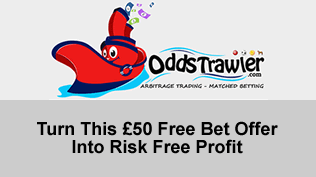 Turn This £50 Free Bet Offer Into Risk Free Profit