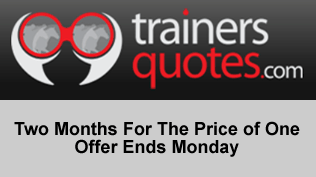 Two Months For The Price of One - Offer Ends Monday