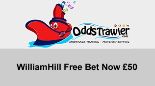 William Hill Free Bet Now £50