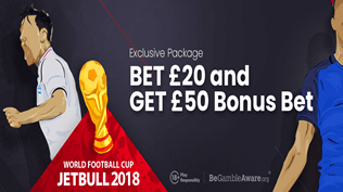 France v Croatia - Bet £20 Get £50 Free