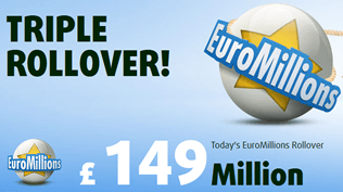 £149M EuroMillions Jackpot - Claim Your Free Ticket