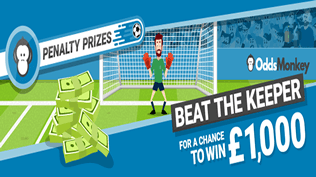 Fancy Scoring Three Penalties For A Chance To Win £1000?