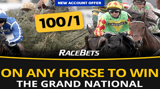 Get 100/1 On ANY Grand National Runner