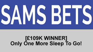 [£109K WINNER] Only One More Sleep To Go!