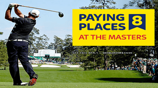 The Masters - Paying 8 Places - BET NOW
