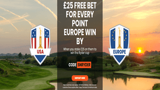 Ryder Cup Free Bets