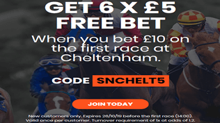 [ACT FAST - 2PM DEADLINE] Get 6 x £5 Free Bets