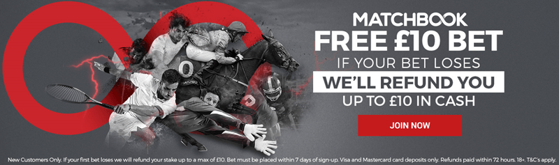 Claim Your £10 Free Bet - Expires June 2nd