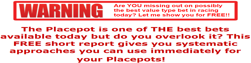 Free Placepot System For You