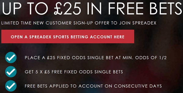 Claim Up To £25 In Free Bets