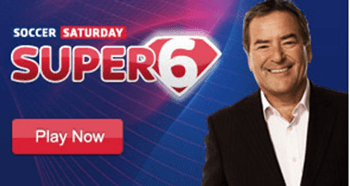 SUPER 6 - WIN £100,000 - FREE ENTRY